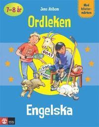bokomslag Pysselbok Engelska Ordleken