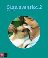 bokomslag Glad svenska 2 Övningsbok, tredje upplagan