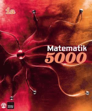 bokomslag Matematik 5000 Kurs 1a Röd Lärobok