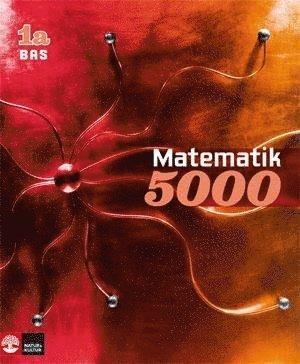 bokomslag Matematik 5000 Kurs 1a Röd Lärobok Bas
