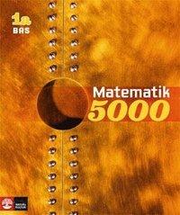 bokomslag Matematik 5000 Kurs 1a Gul Lärobok Bas