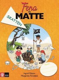 bokomslag Fena på matte åk 2 Skatten