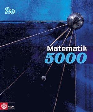 bokomslag Matematik 5000 Kurs 2c Blå Lärobok