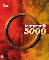 bokomslag Matematik 5000 Kurs 2a Röd & Gul Lärobok