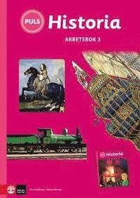 bokomslag PULS Historia 4-6 Arbetsbok 3, tredje upplagan
