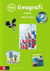 bokomslag PULS Geografi 4-6 Norden Arbetsbok, tredje upplagan