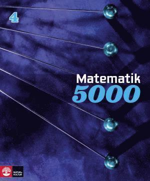 bokomslag Matematik 5000 Kurs 4 Blå Lärobok