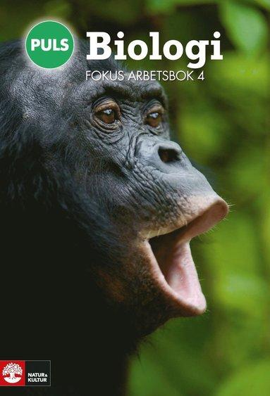bokomslag PULS Biologi 7-9 Fokus Arbetsbok 4, fjärde upplagan