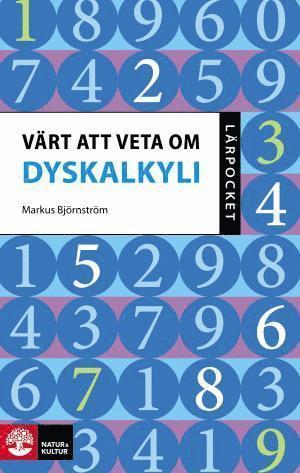 bokomslag Lärpocket Värt att veta om dyskalkyli