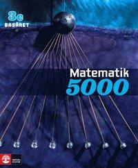 bokomslag Matematik 5000 Kurs 3c Basåret Lärobok