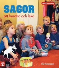 bokomslag Förskoleserien Sagor att berätta och leka