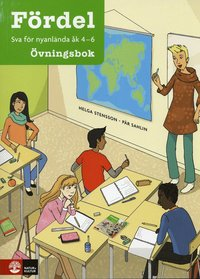 bokomslag Fördel SVA för nyanlända åk 4-6 Övningsbok