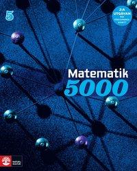 bokomslag Matematik 5000 Kurs 5 Blå Lärobok, andra upplagan