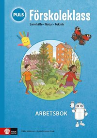 bokomslag PULS Förskoleklass Arbetsbok