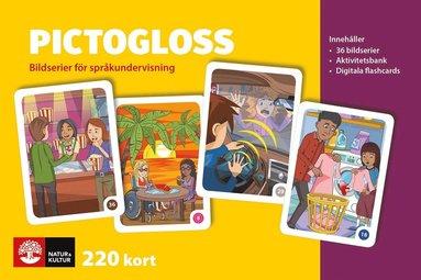 bokomslag Pictogloss Bildserier för språkundervisning