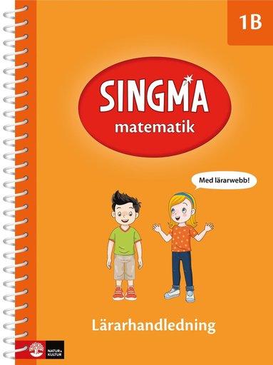 bokomslag Singma matematik 1B Lärarhandledning med lärarwebb