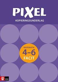 bokomslag Pixel 4-6 Kopieringsunderlag Facit, andra upplagan