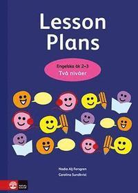 bokomslag Lesson Plans Engelska å 2-3 Två nivåer kopieringsunderlag