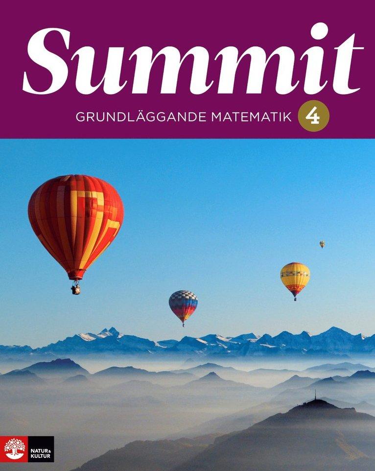 Summit 4 grundläggande matematik 1