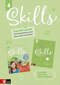 bokomslag Skills Teacher's Guide åk 4 inkl ljudfiler och digitalt lärarstöd