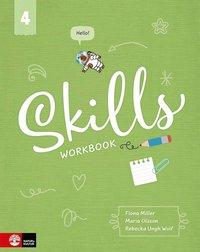 bokomslag Skills Workbook åk 4 inkl elevwebb