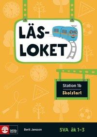 bokomslag Läsloket åk 1-3 Station 1b Skolstart