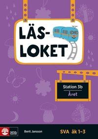 bokomslag Läsloket åk 1-3 Station 3b Året