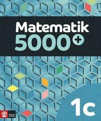 bokomslag Matematik 5000+ Kurs 1c Lärobok Upplaga 2018