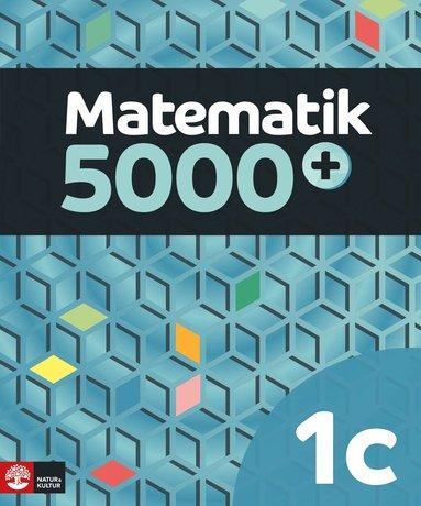 bokomslag Matematik 5000+ Kurs 1c Lärobok