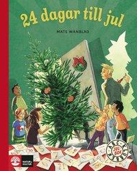 bokomslag ABC-klubben Julbok, 24 dagar till jul