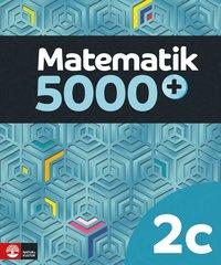 bokomslag Matematik 5000+ Kurs 2c Lärobok Upplaga 2018