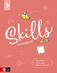 bokomslag Skills Workbook åk 5 inkl elevwebb