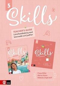 bokomslag Skills Teacher's guide åk 5 inkl ljudfiler och dig