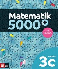 bokomslag Matematik 5000+ Kurs 3c Basåret Lärobok