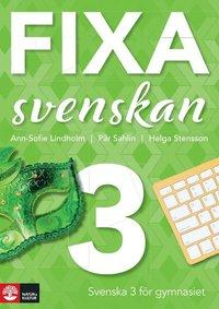 bokomslag Fixa svenskan 3