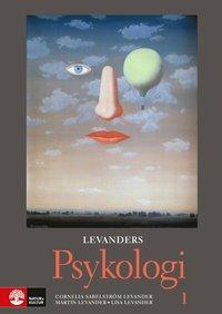 bokomslag Levanders Psykologi 1 för gymnasiet, tredje upplag