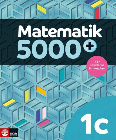 bokomslag Matematik 5000+ Kurs 1c Lärobok Upplaga 2021