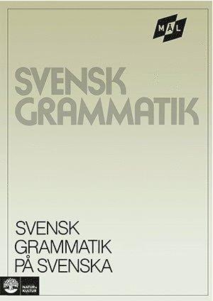 bokomslag Mål Svensk grammatik på svenska