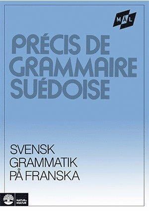 bokomslag Mål Svensk grammatik på franska