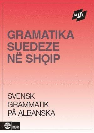 bokomslag Mål Svensk grammatik på albanska