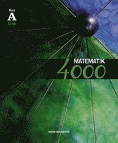 bokomslag Matematik 4000 kurs A Grön lärobok