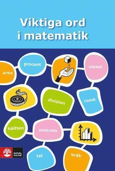 bokomslag Viktiga ord i matematik