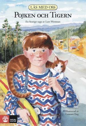 bokomslag Läs med oss. År 3, Nya pojken och tigern
