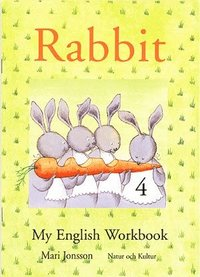 bokomslag Rabbit 4 My English Workbook