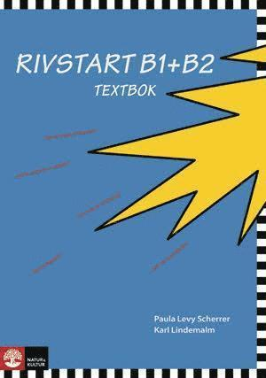 bokomslag Rivstart B1+B2 Textbok med cd mp3