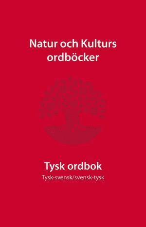 bokomslag Tysk ordbok : tysk-svensk/svensk-tysk