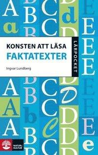 bokomslag Konsten att läsa faktatexter