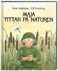 bokomslag Maja tittar på naturen