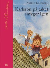 bokomslag Karlsson på taket smyger igen