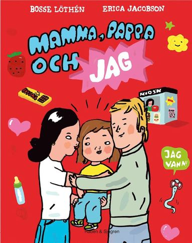bokomslag Mamma, pappa och jag
